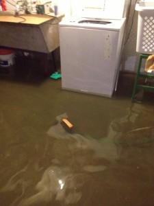 Flooded Basement in Kansas City, MO Home