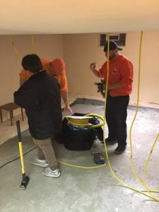 Water Damage Edgerton Park Technicians
