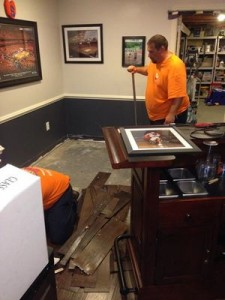 Water Damage Lenexa Restoration Technician